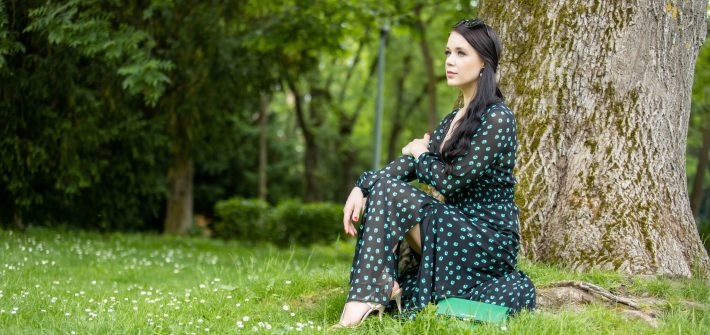 Magic Munich Blog - green Maje dress