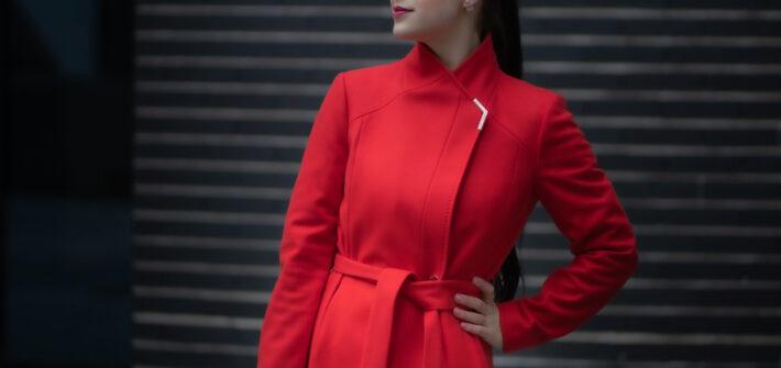 Magic Munich Ted Baker red coat